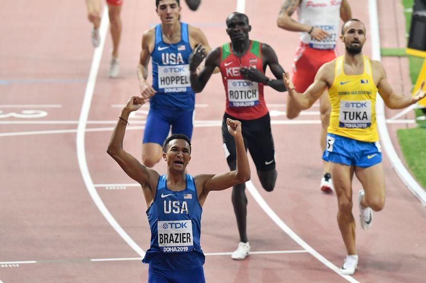 800 metara finale, Doha 2019