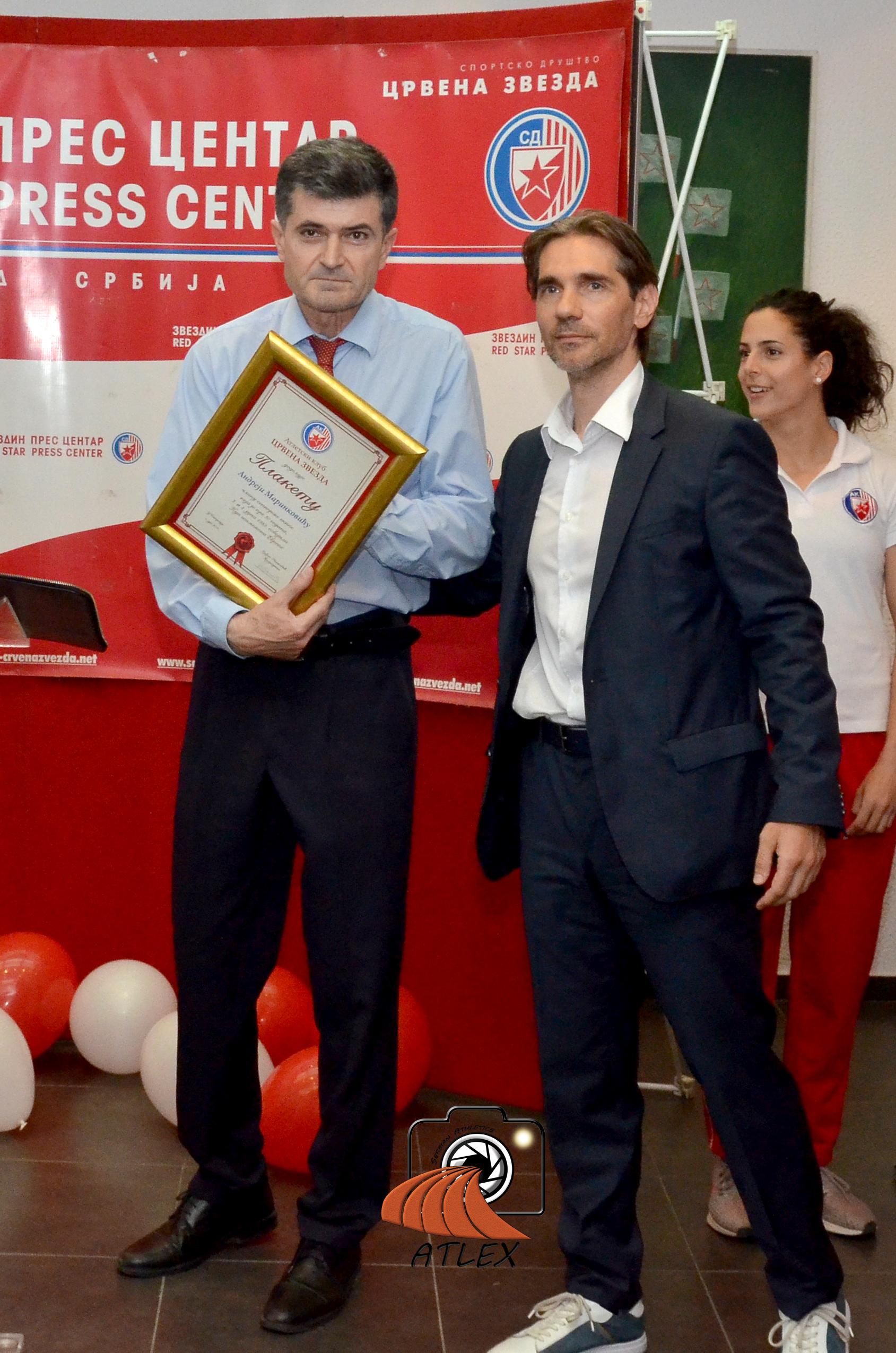 Andrea Marinković, član šampionske generacije