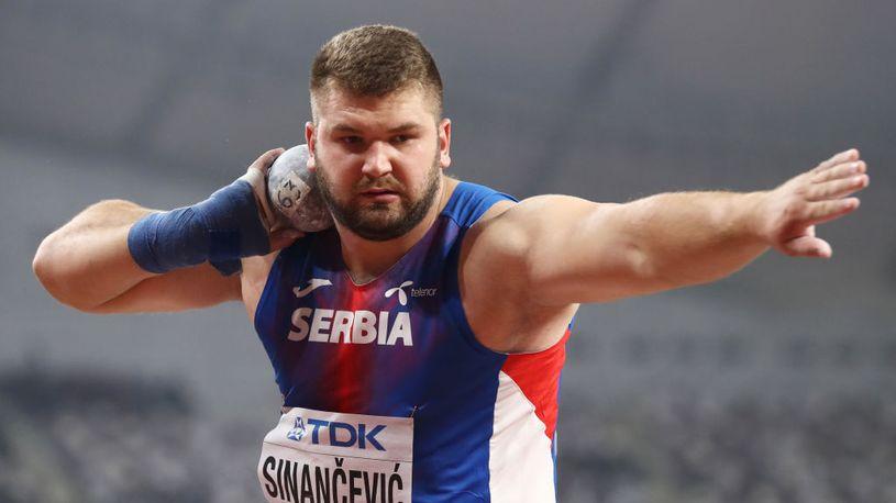 Armin Sinančević, finale Svetsko prvenstva u bacanju kugle