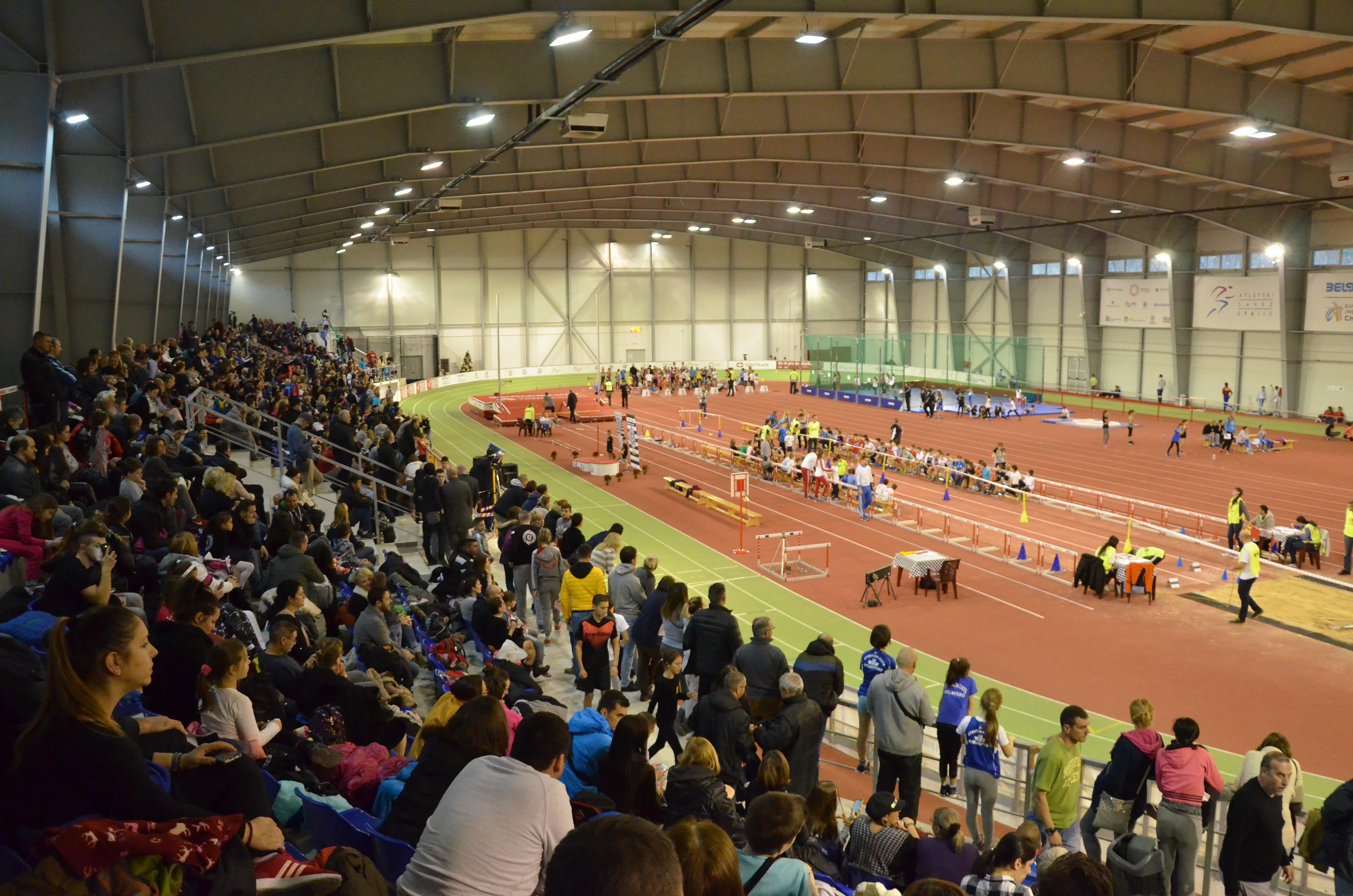 Atletska dvorana - tribine