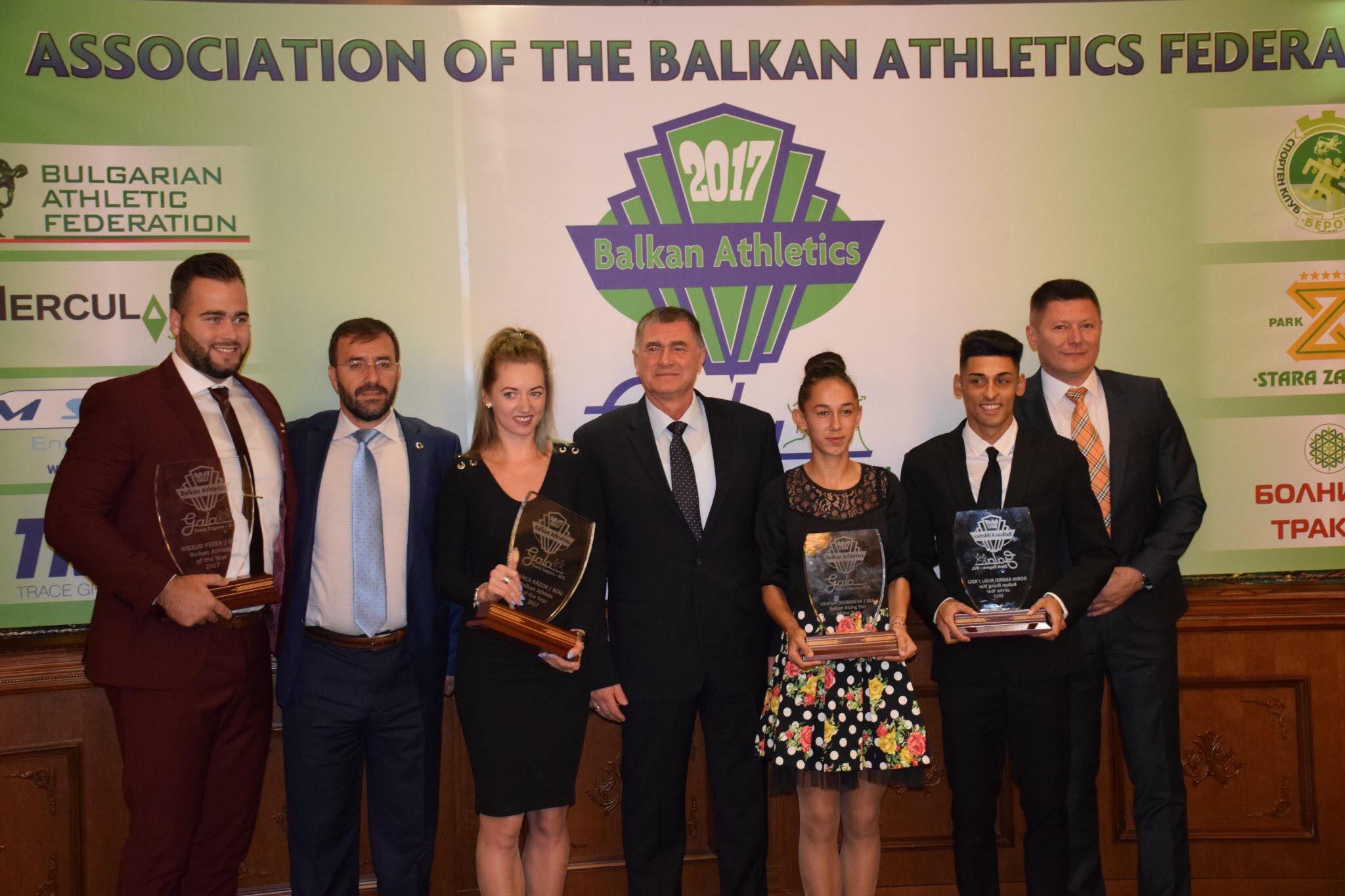 Najbolji atletičari Balkana za 2017. godinu: