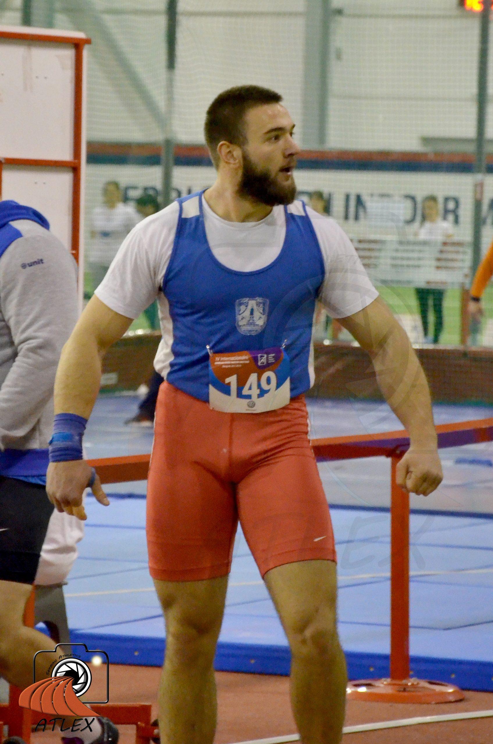 Bogdan Zdravković, bacanje kugle, Serbia open