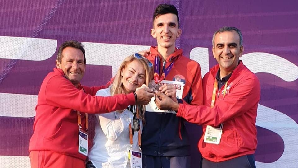 Elzan Bibić bronza EP U23