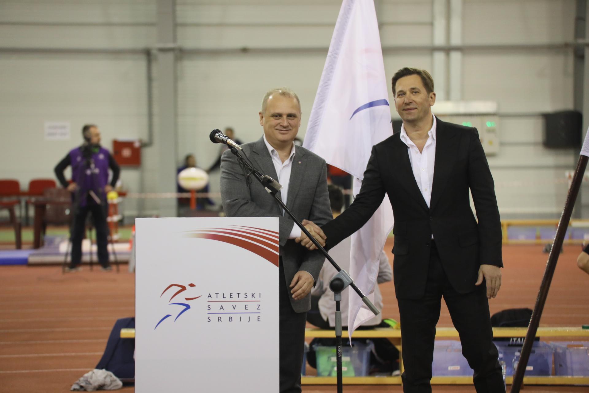 Goran Vesić i Veselin Jevrosimović