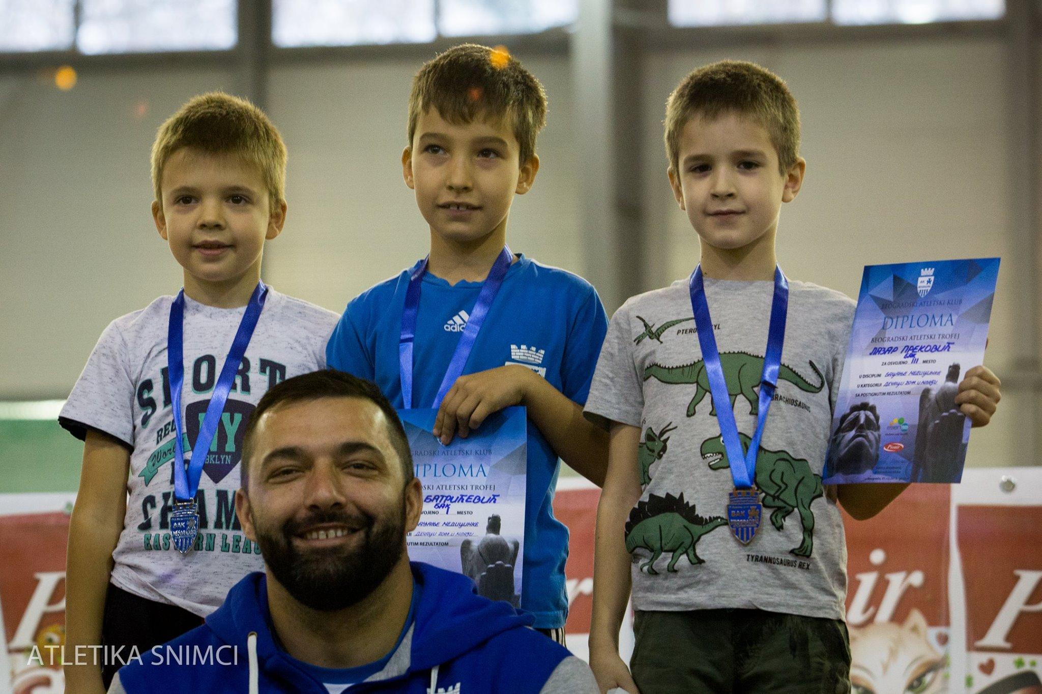 Prvi miting BAK-a, Asmir Kolašinac