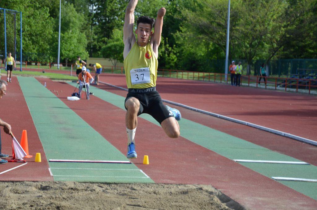Nemanja Matijašević, para skakač udalj