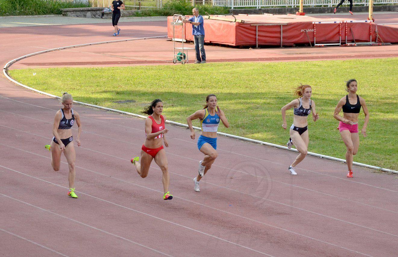 Prvenstvo Beograda za Seniore, 100m devojke