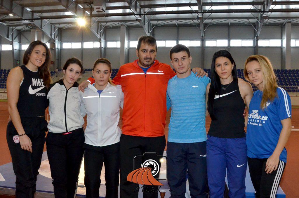 Rafaela Spanudakis i grčka ekipa na pripremama u Beogradu