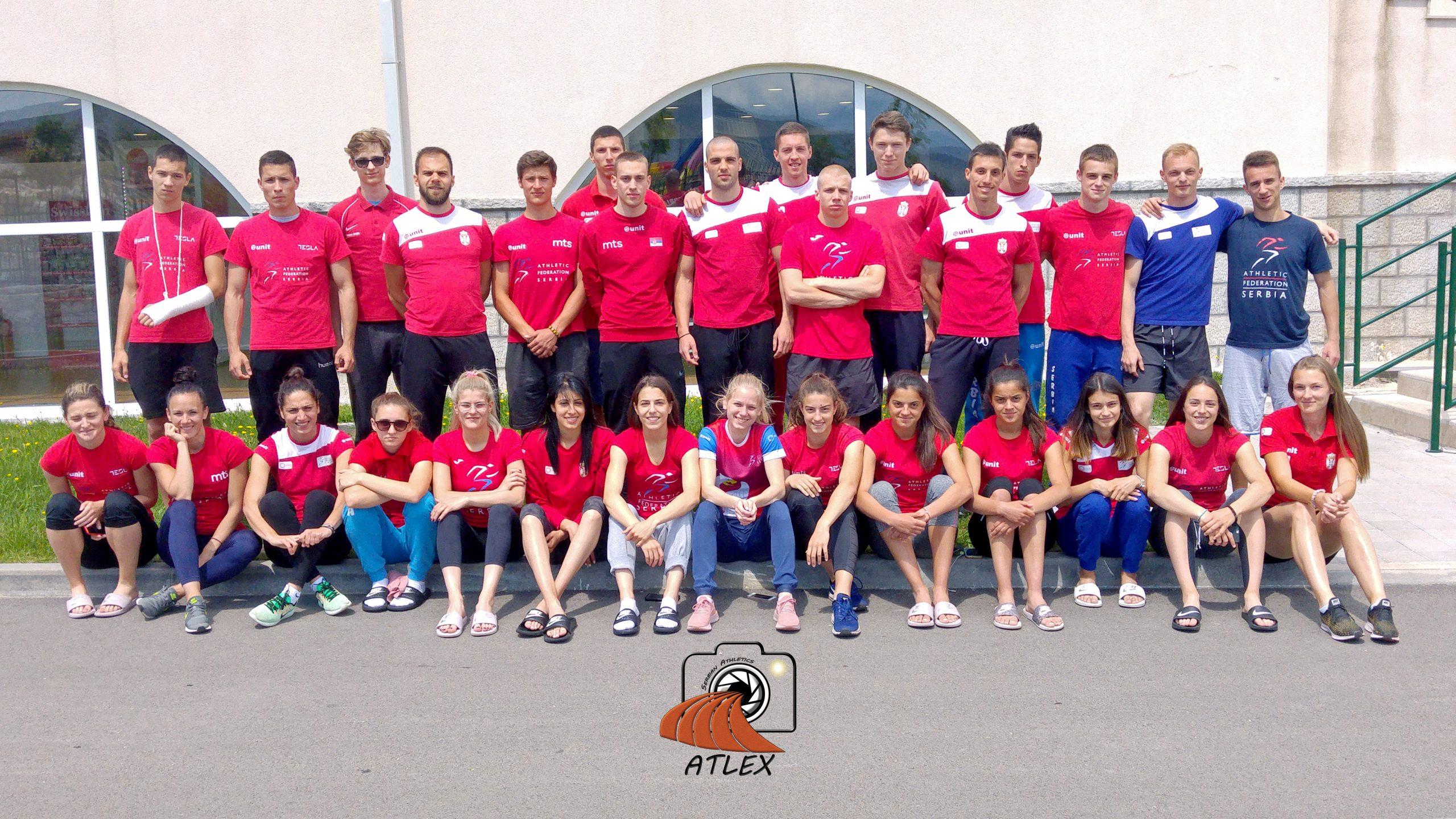 Reprezentacja Srbije 2019. pripreme Trebinje