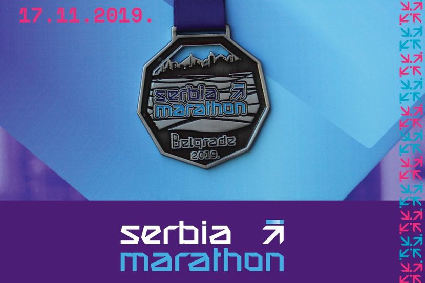 Serbia Marathon medalja