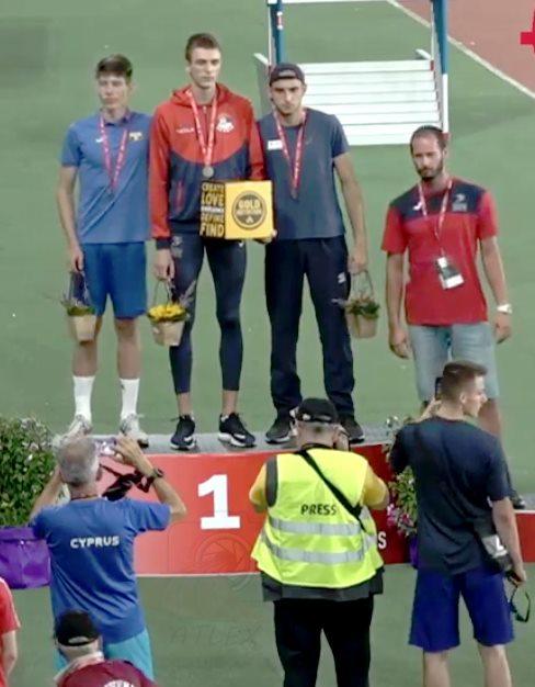 Slavko Stević prvak Balkana za juniore u visu