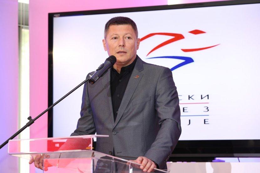 Slobodan Branković, direktor Atletskog saveza Srbije