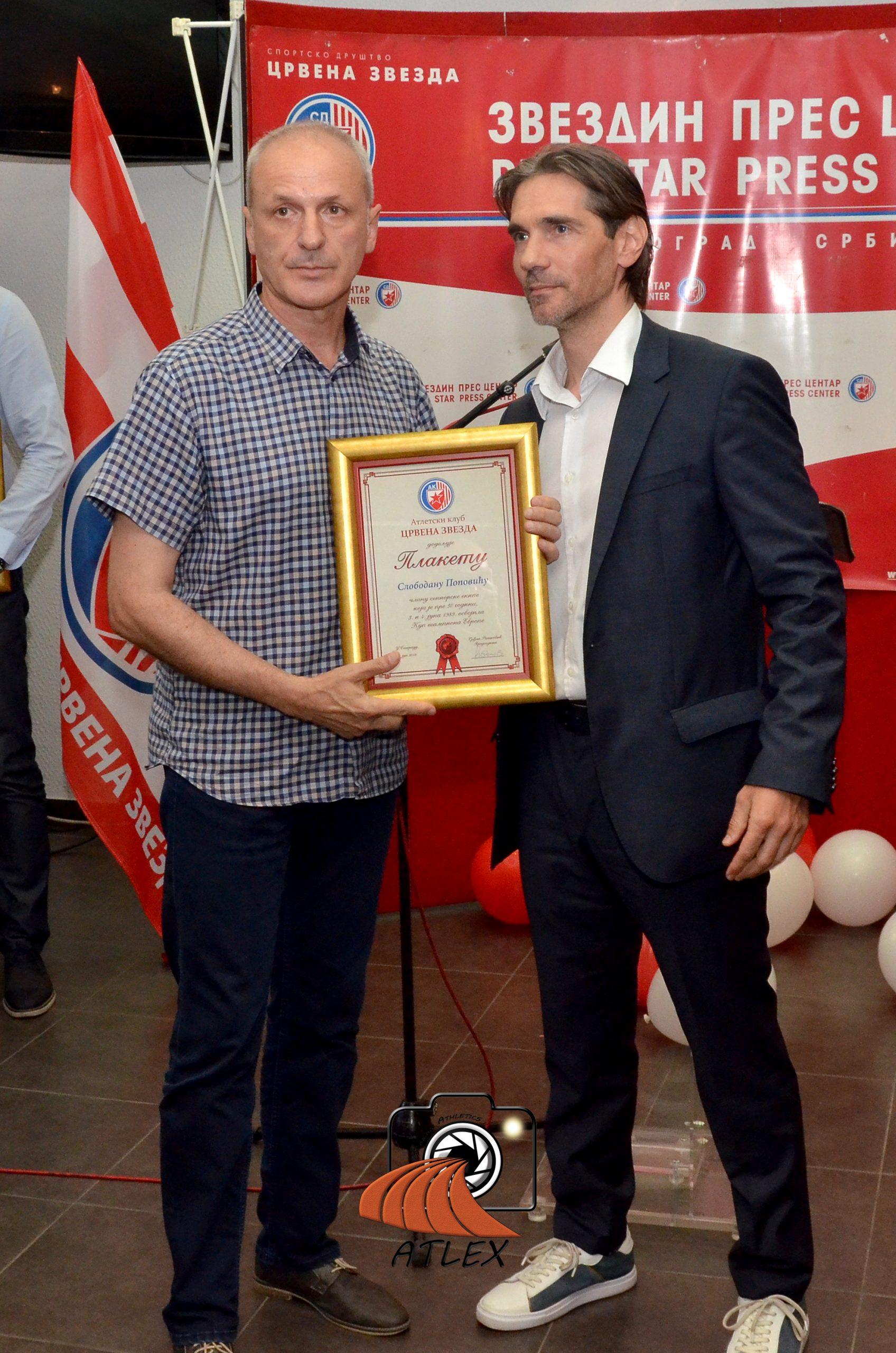Slobodan Popović, član šampionske generacije