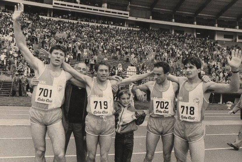Stafeta 4x400m KEŠ 89 Branković Mačev Popović Joković