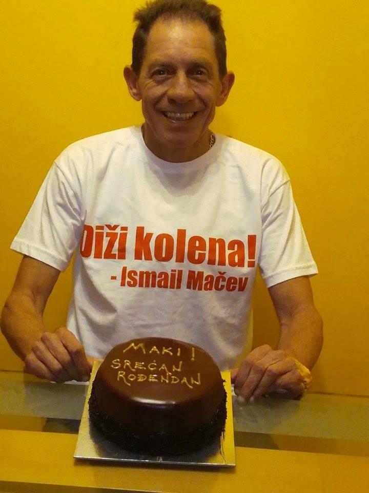 Ismail Mačev, rođendan