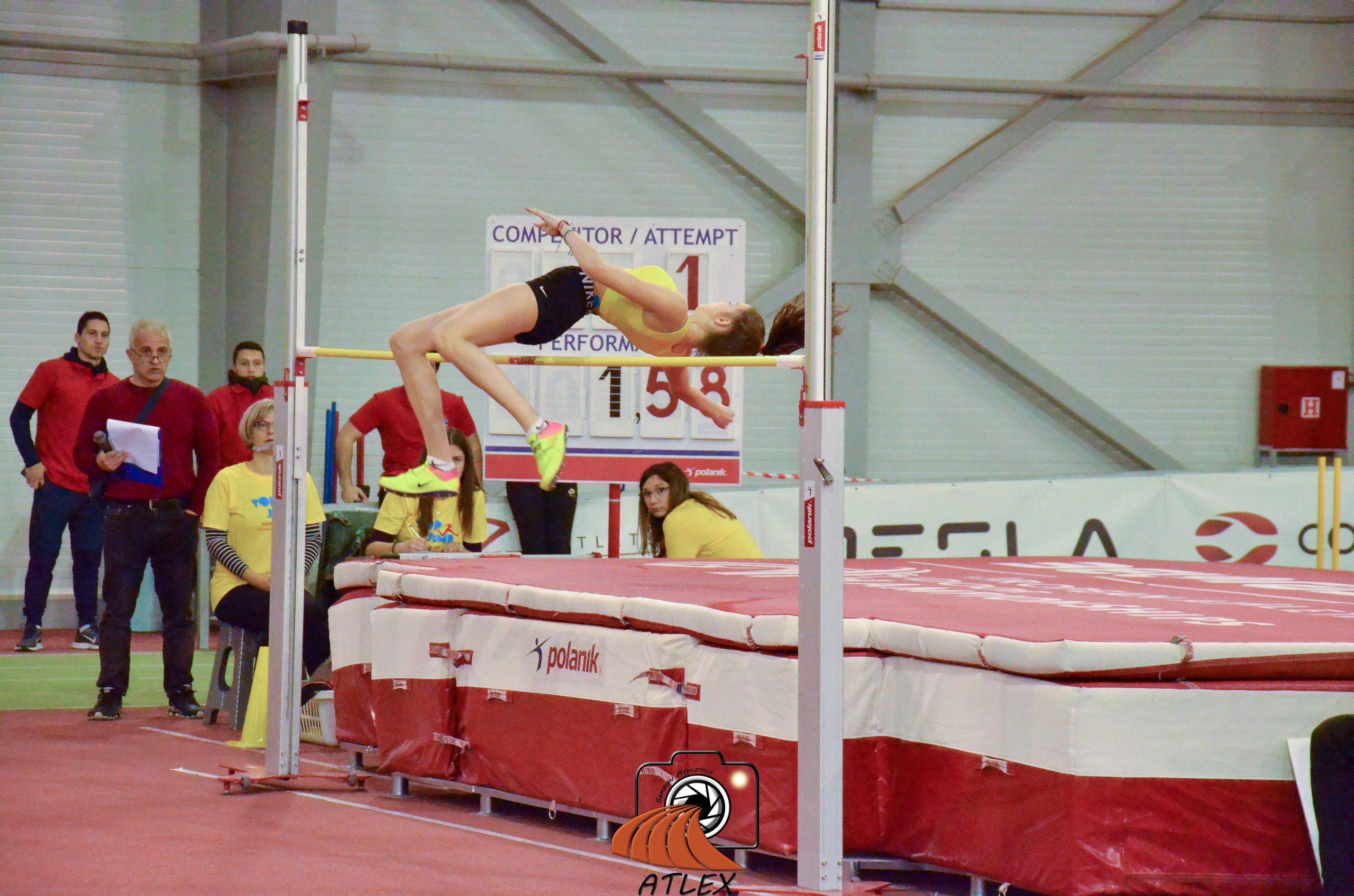 Aleksandrija Mitrović, skok uvis