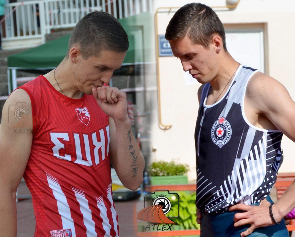 Miloš Raović, Crvena zvezda, Partizan