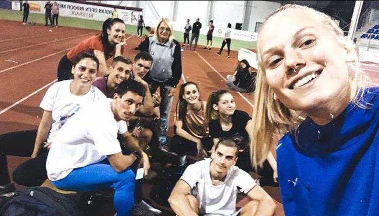 Mirjana Stojanović sa svojom grupom
