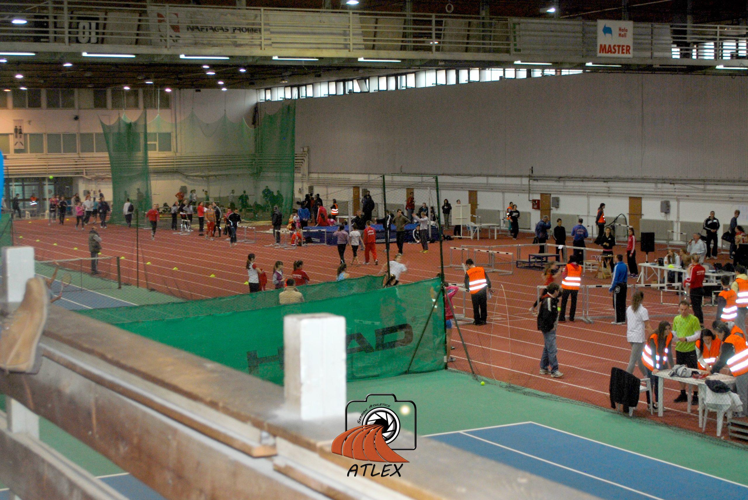 Novosadski sajam, hala 1, atletika indoor