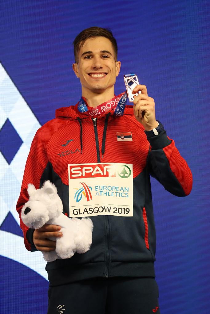 Strahinja Jovančević sa bronzanom medaljom sa Evropskog prvenstva