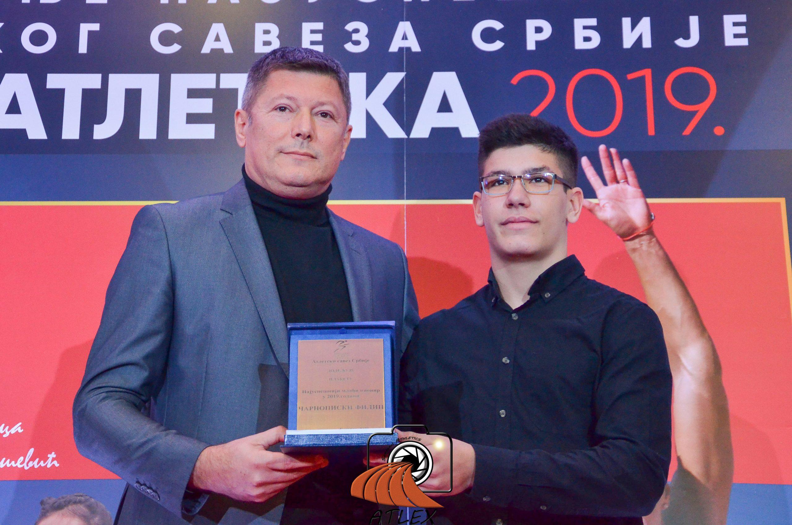 Filip Čarnopiski, najbolji mlađi pionir Srbije u 2019.