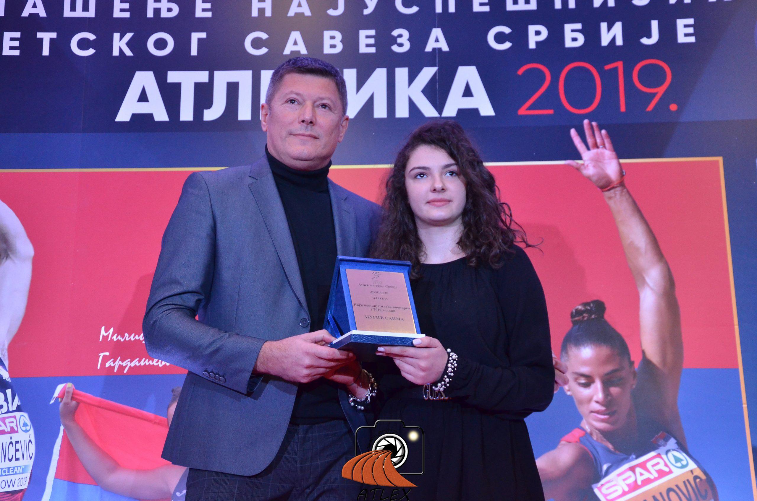Najbolja mlađa pionirka Srbije u 2019.