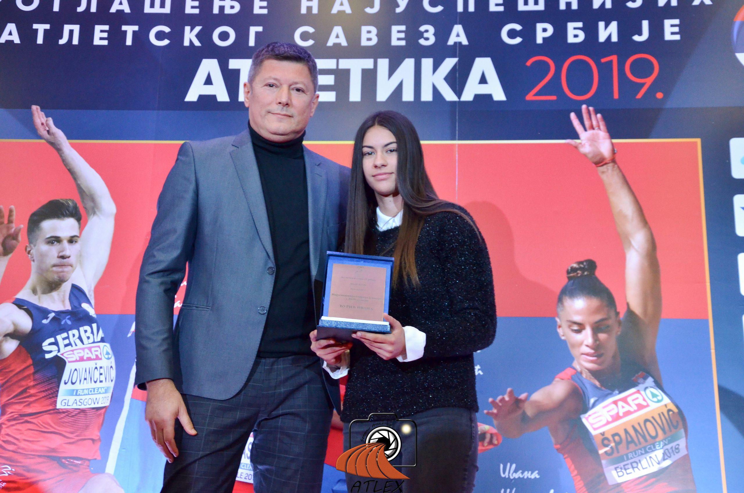 Ivana Đurić, najbolja juniorka Srbije u 2019.