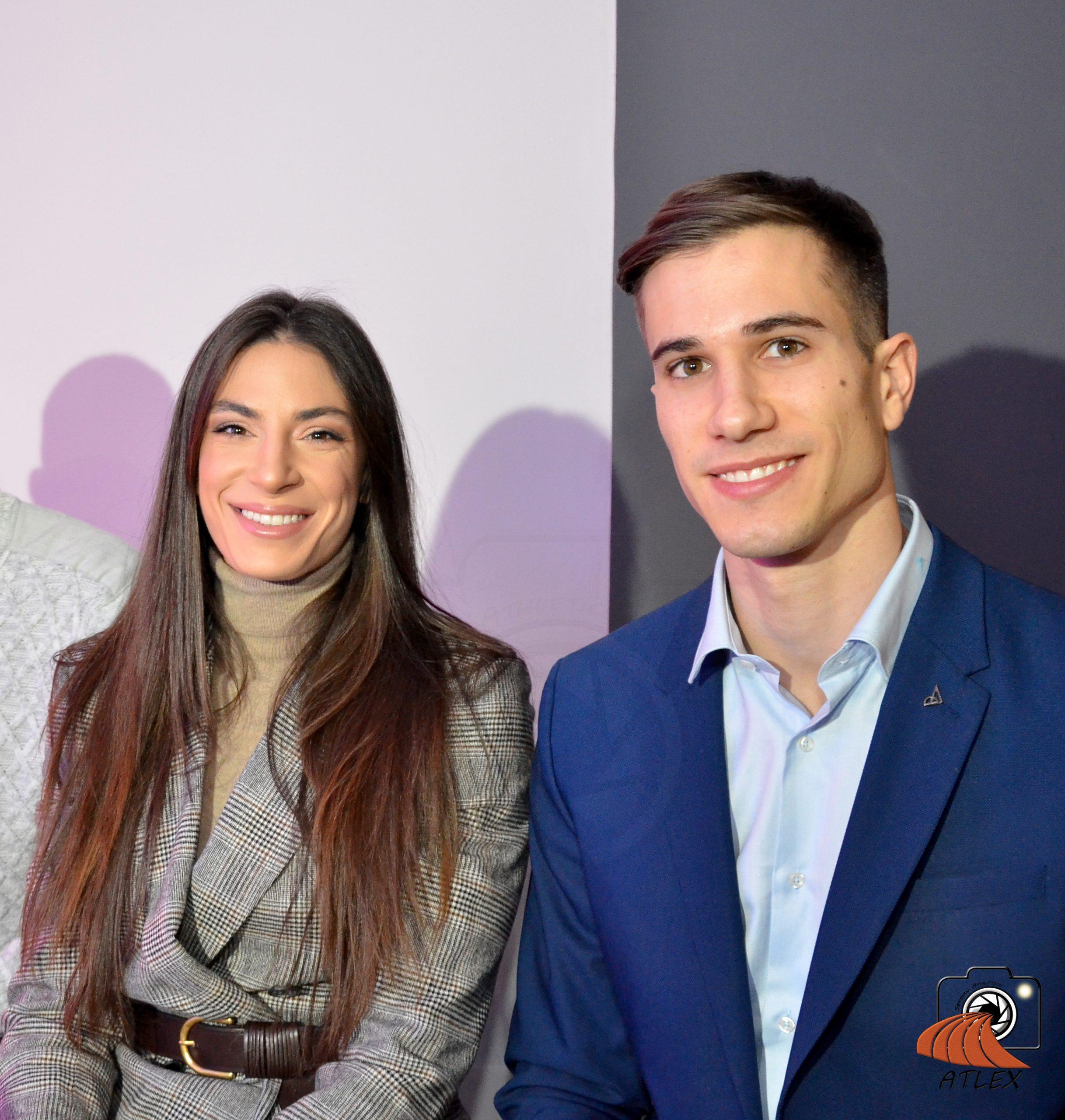 Ivana Španović i Strahinja Jovvančević, najbolji atletičari Srbije u 2018. godini