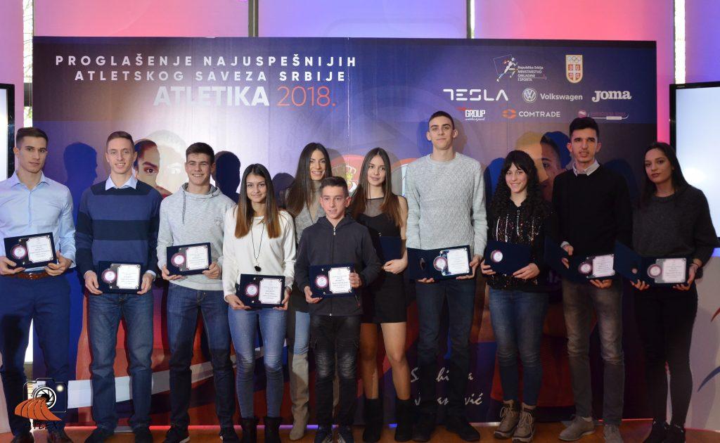 Najbolji atletičari Srbije za 2018. godinu