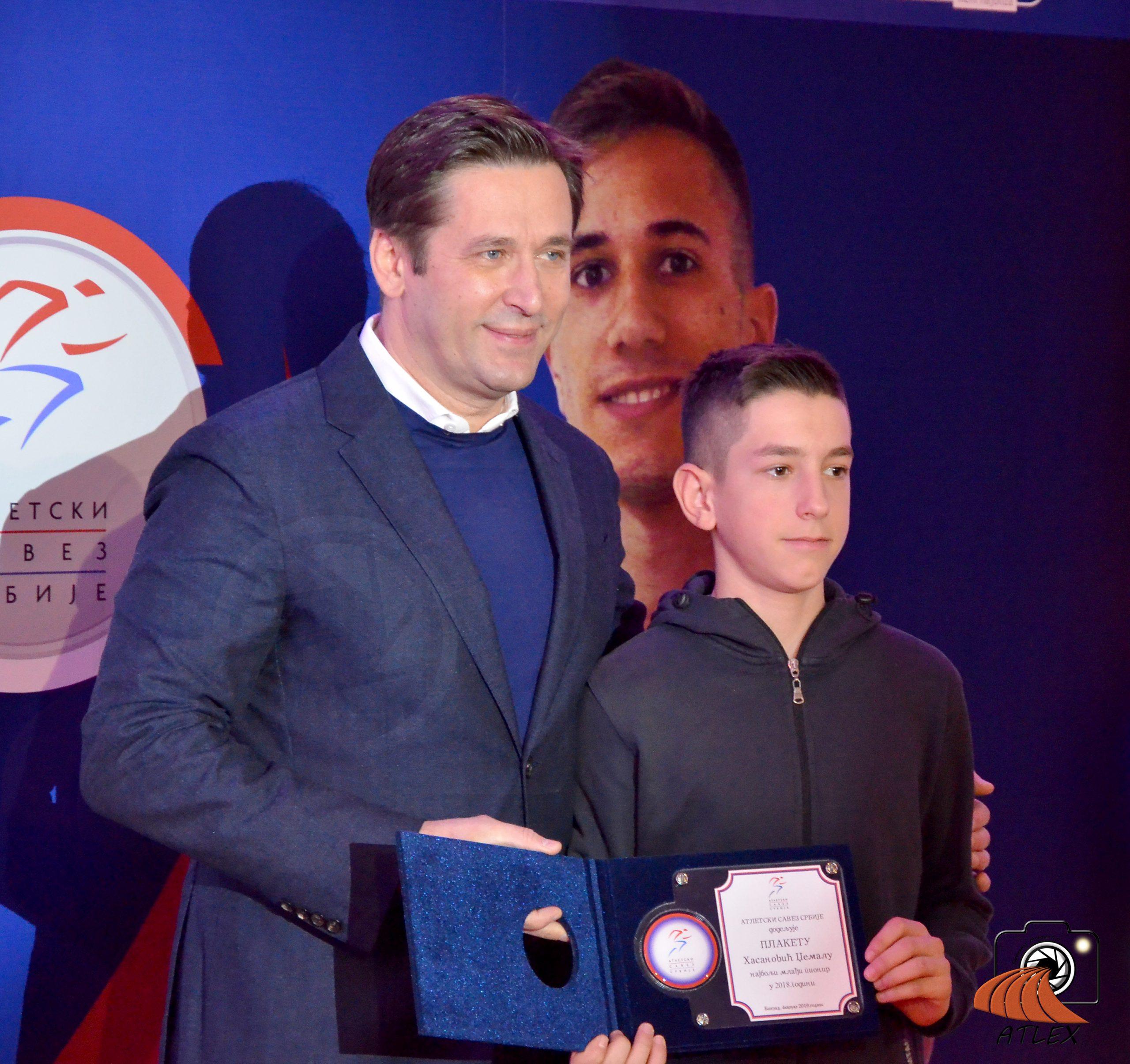 Džemal Hasanović najbolji mlađi pionir Srbije 2018.