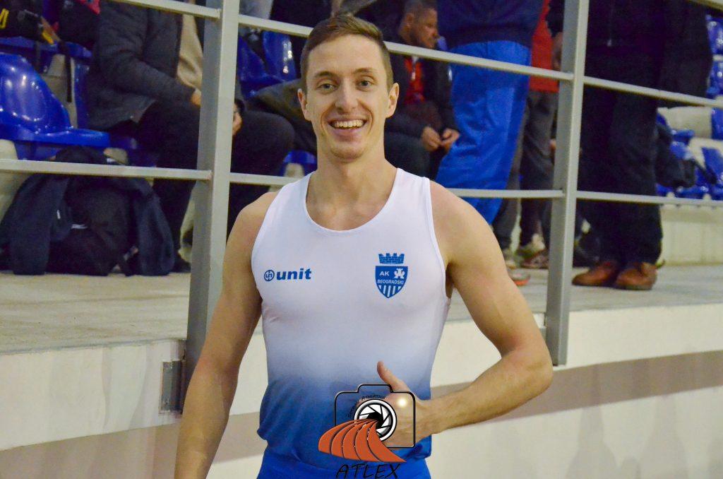 Aleksa Kijanović, novi državni rekorder na 60 metara