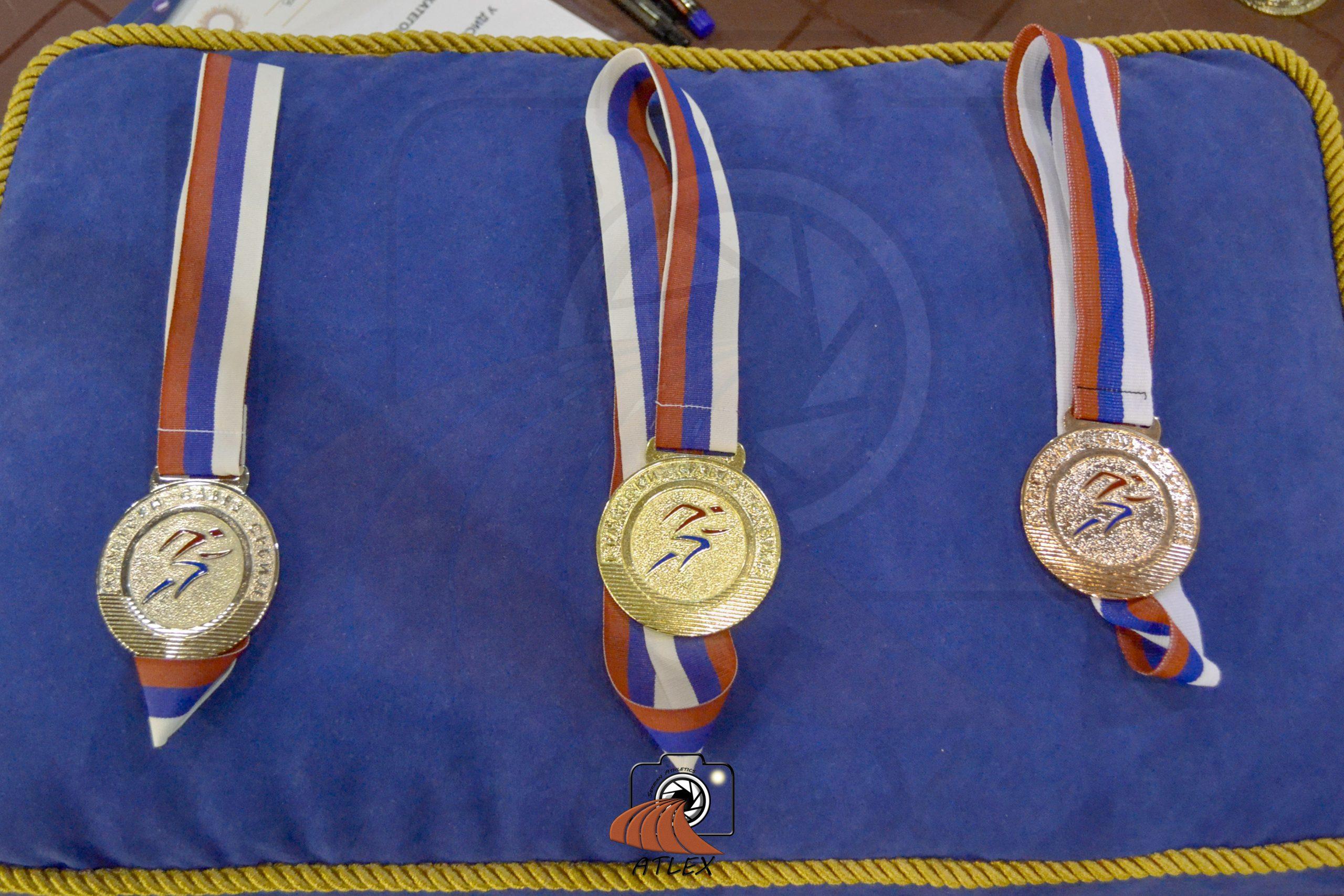 Medalje prvaka Srbije do 2018.