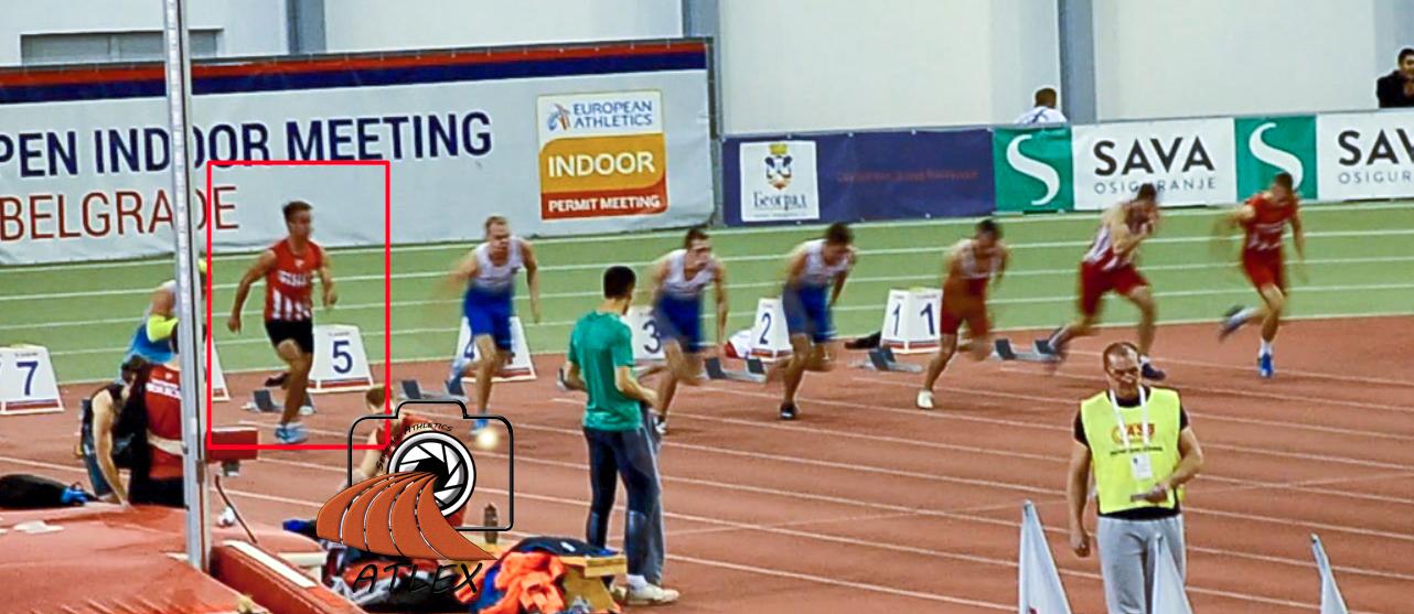 Mihaklo Mandić zbunjeno staje sa trčanjem