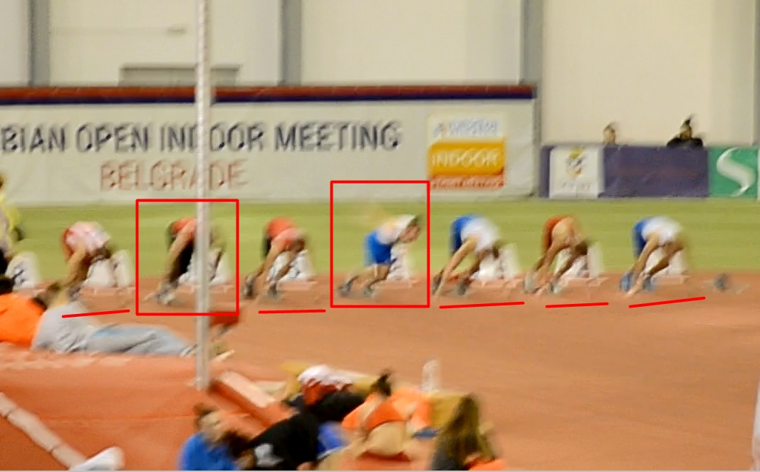 Prvenstvo Beograda, 60m finale - Neispravan start