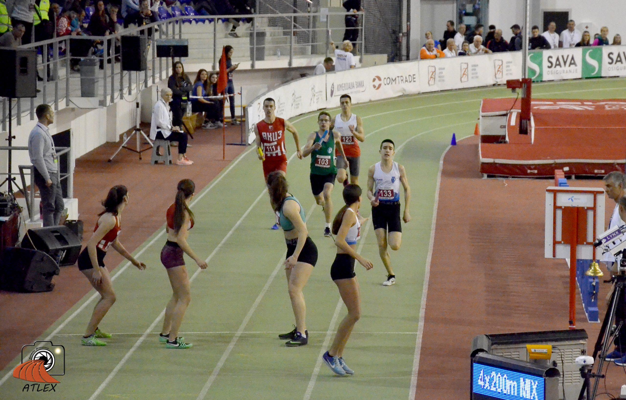 Štafeta 4x200 metara mešovito u18, 5. Serbian Open 2020