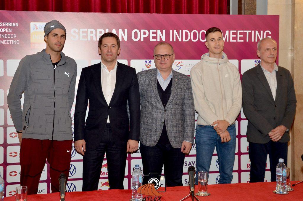 Tamberi, Jevrosimović, Vesić, Jovančević, Popović, 5. Serbian open indoor meeting 2020