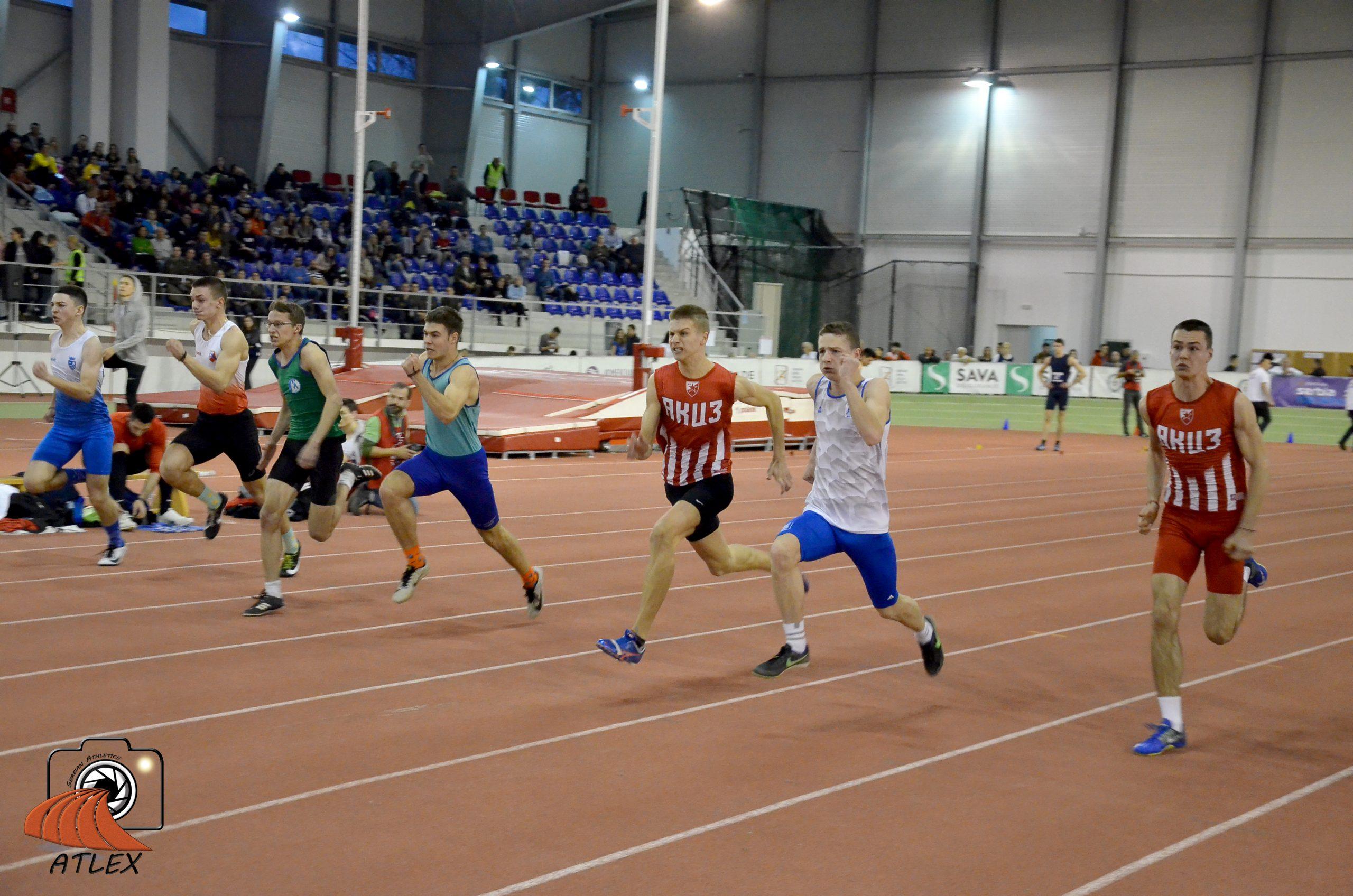 60 metara dečaci u18, 5. Serbian Open 2020