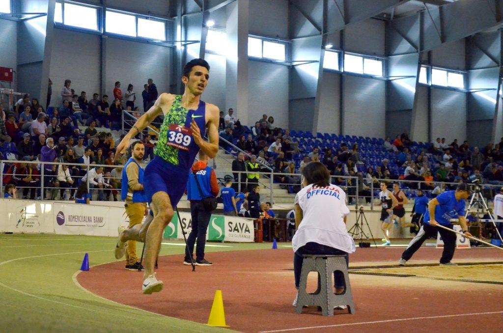 Elzan Bibić, šampion Srbije 2020. na 3000 metara