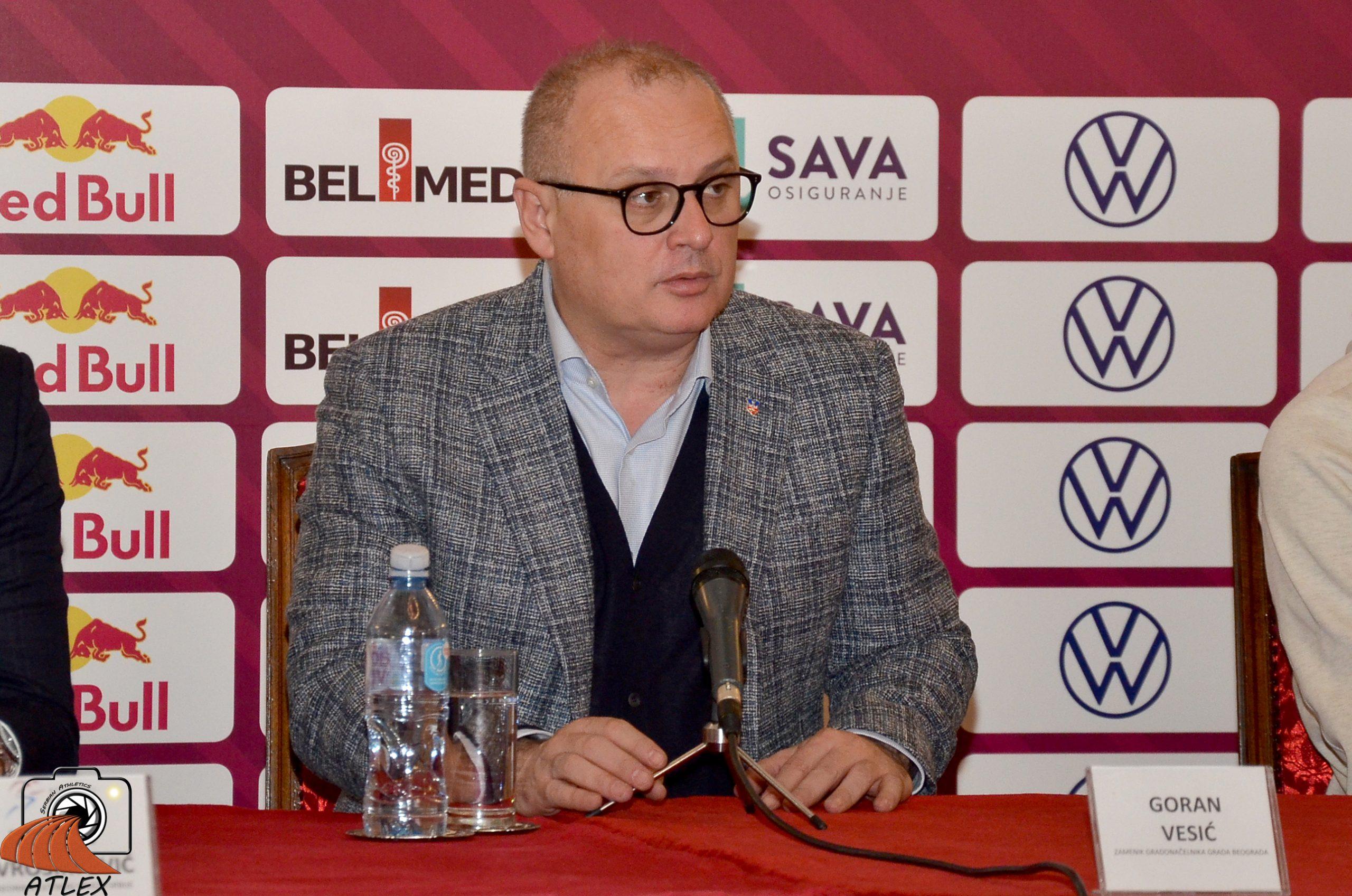 Goran Vesić, najava 5. Serbian opena-a 2020