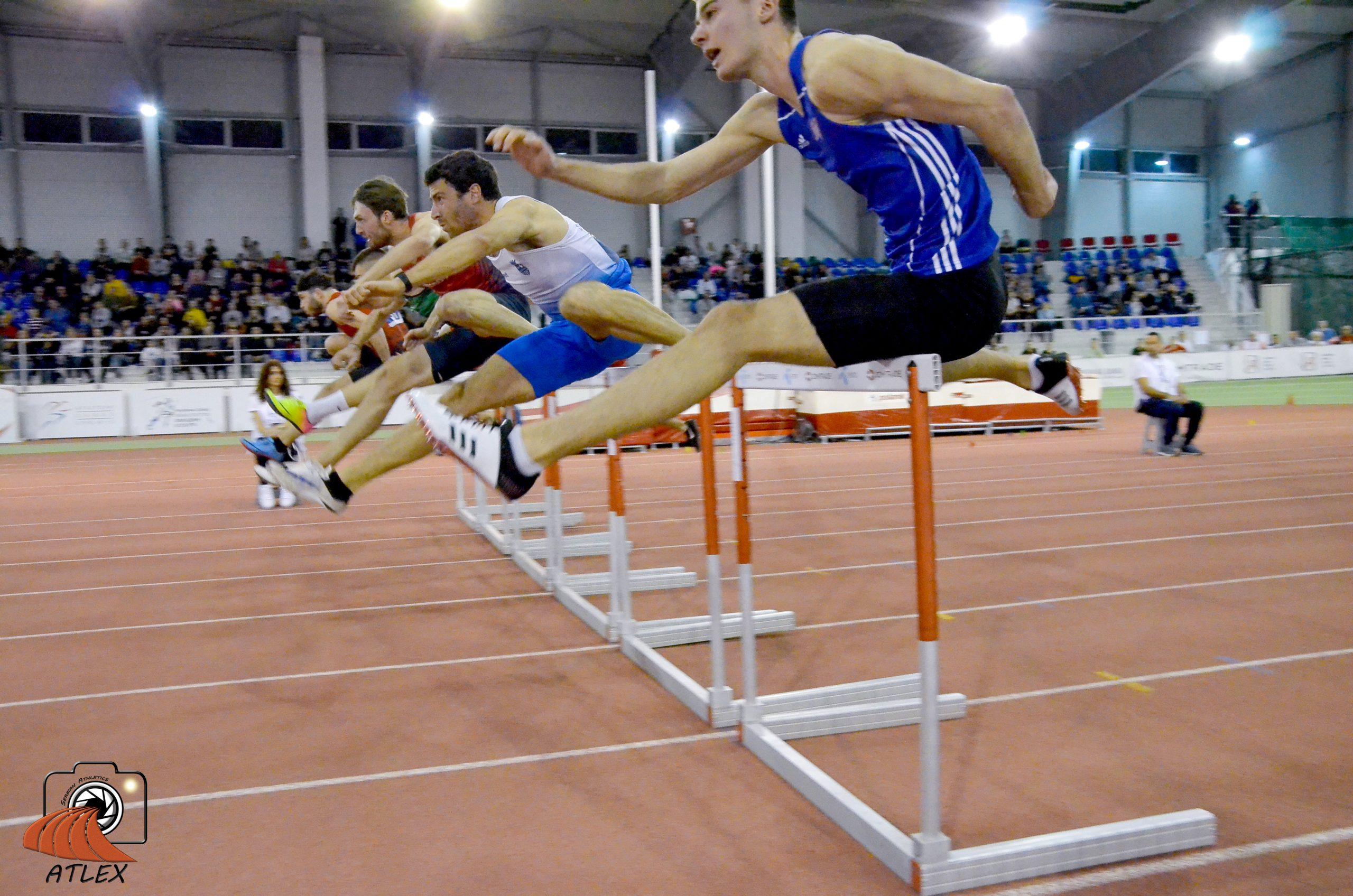 Luka Trgovcevic, Liam Van der Šaf, 60 metara prepone, Serbian open 2020