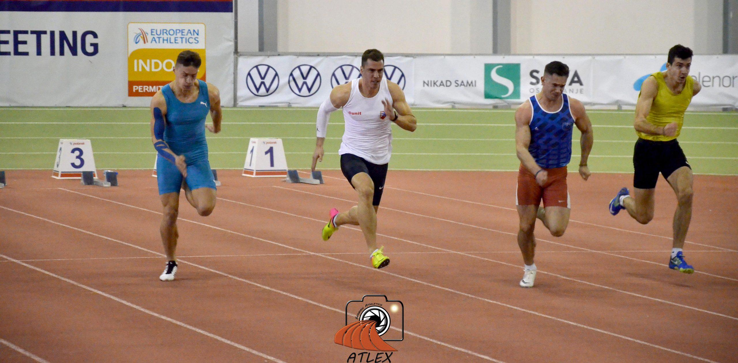 Mihail Dudaš, 60 metara