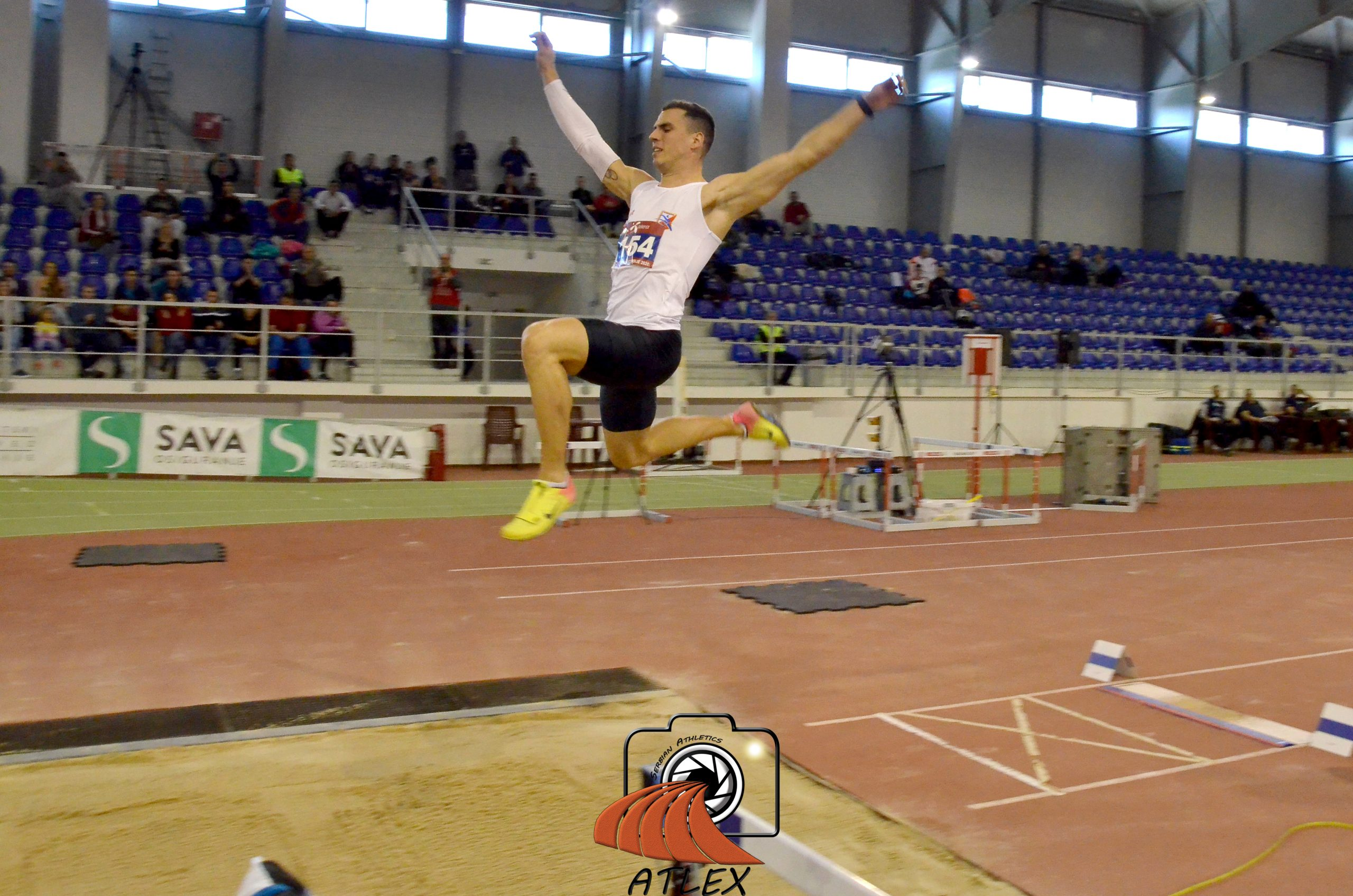 Mihail Dudaš, skok udalj