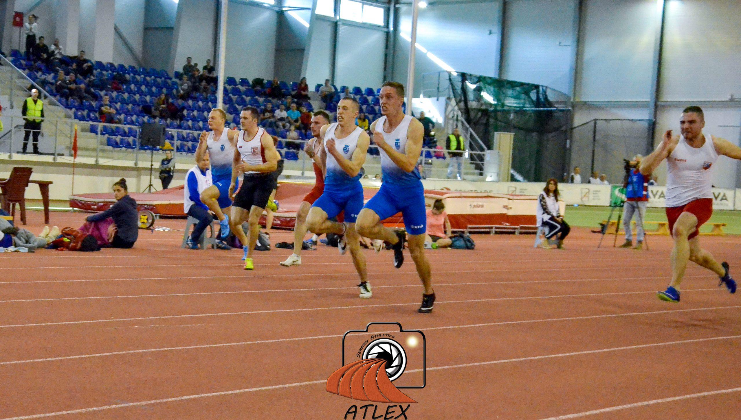 Aleksa i Boško Kijanović, 60 metara, Dvoransko prvenstvo Srbije