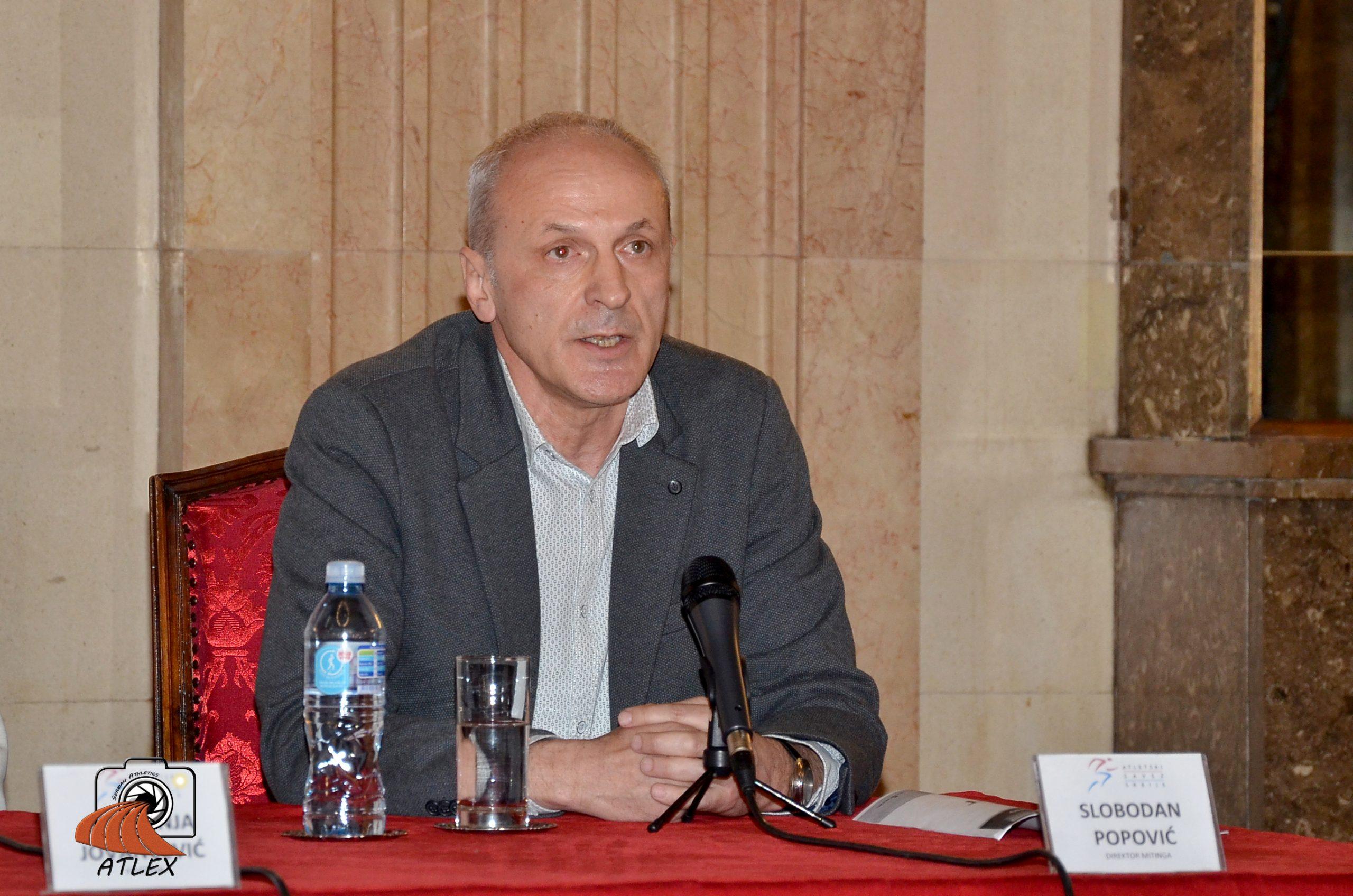 Slobodan Popović, najava 5. Serbian opena-a 2020