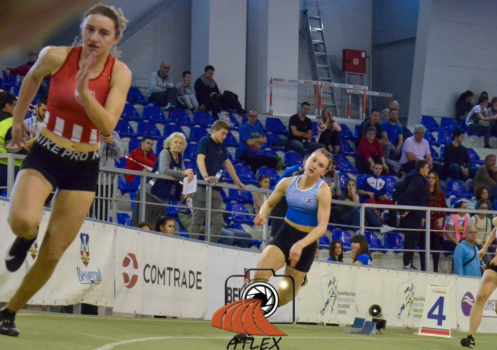 Tijana Japundžić i Andrea Sremac, dvoransko prvenstvo Srbije 2020