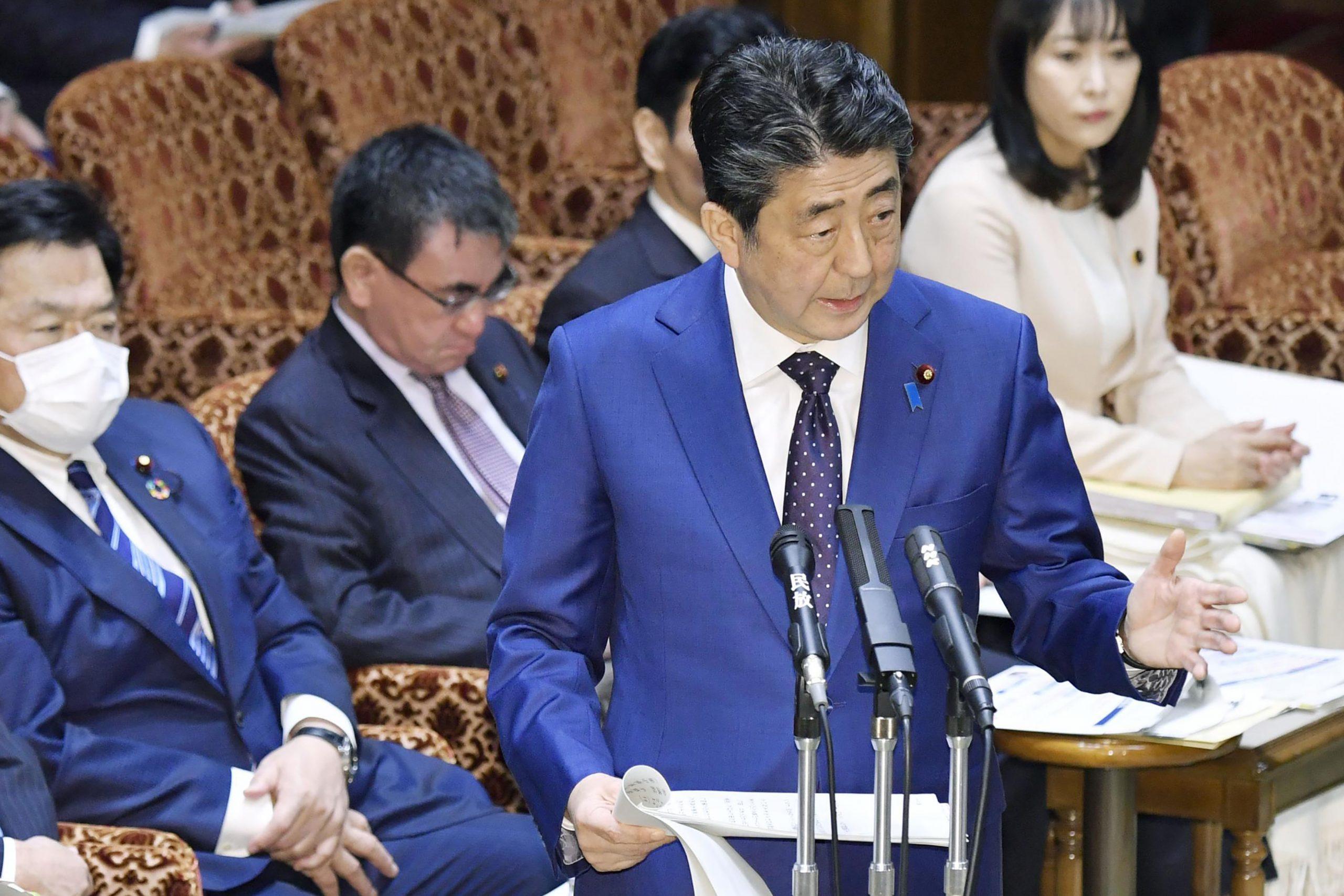 Šinzo Abe, premijer Japana