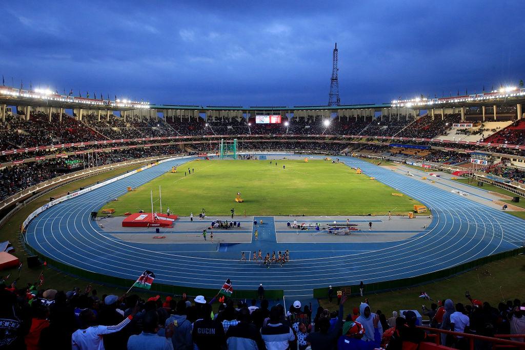 Atletski stadion u Najrobiju, Kenija, U18 Svetsko prvenstvo 2017.