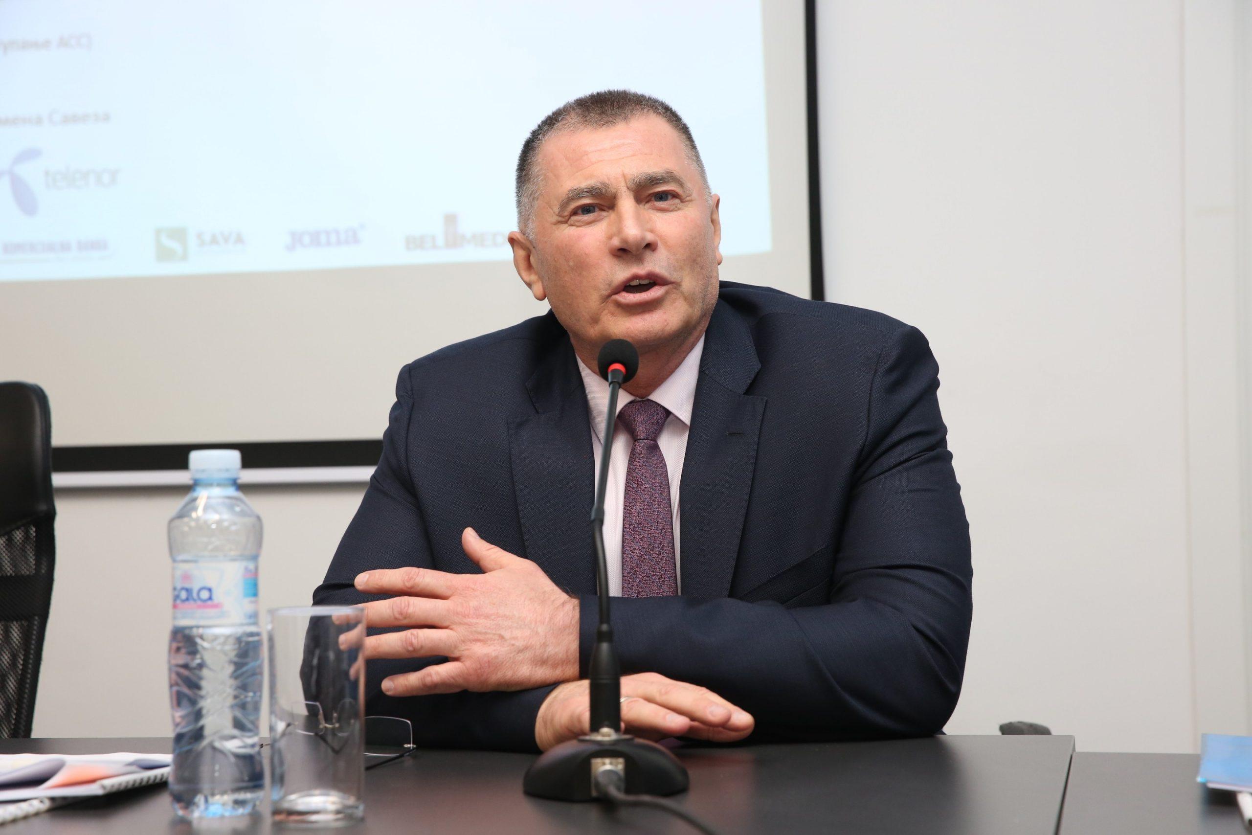 Dobromir Karamarinov, izborna skupština ASS-a 2020