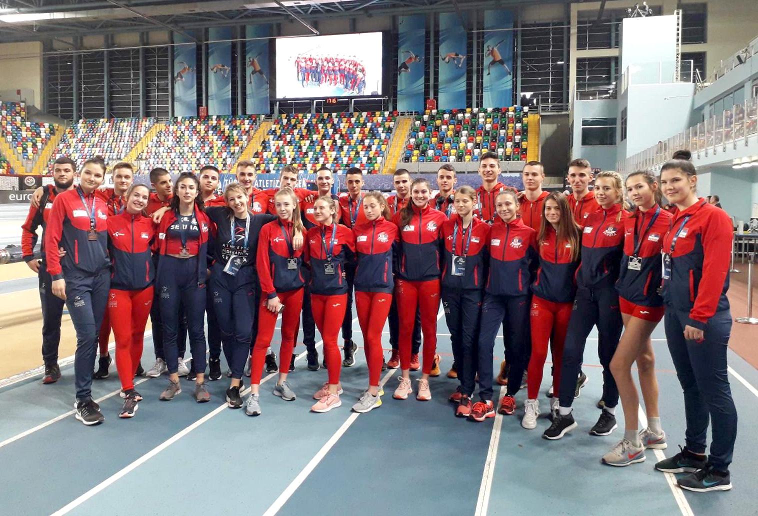 Mlađe juniorska reprezentacija Srbije