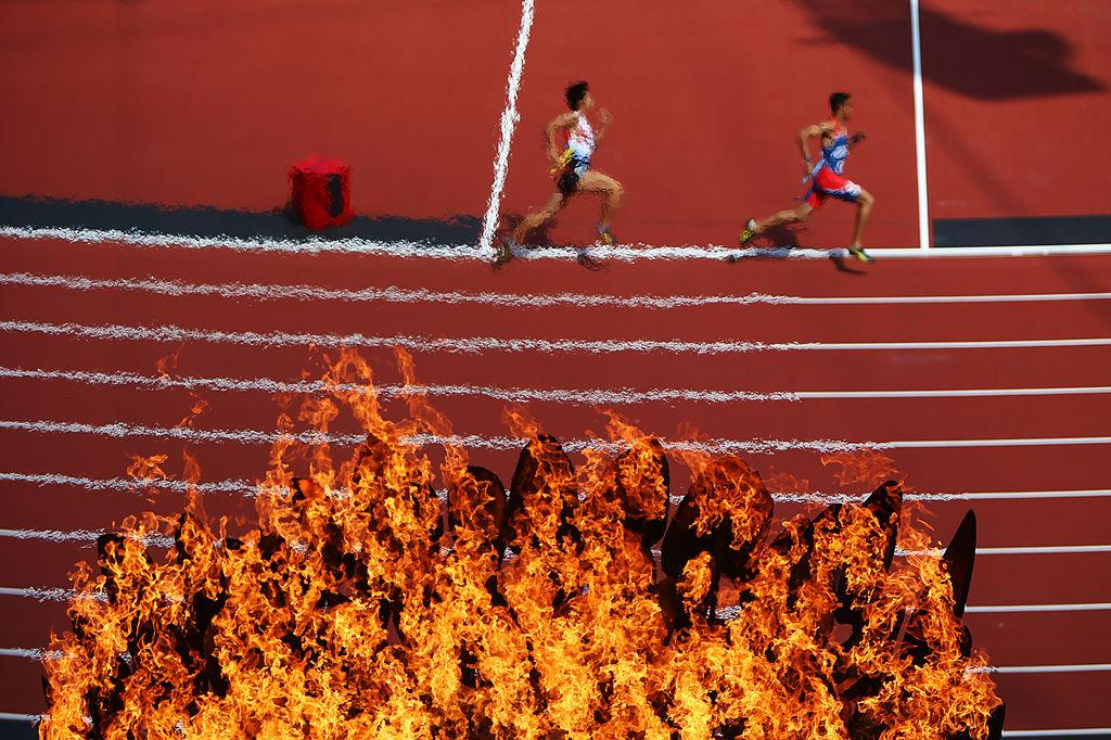 Olimpijski plamen, London 2012